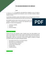 CONTEXTO SOCIOECONOMICO DE MÉXICO