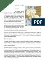Desarrollo político de Europa oriental