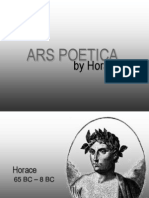 ars poetica sparknotes