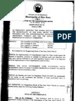 San Juan - Zoning Ordinance No. 54