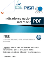 Inee, Enlace,Ocde y Pisa