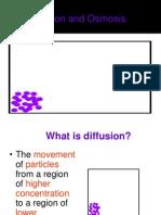 Diffusion and Osmosis 2012