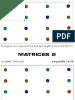 Matrices 2, Principios de matemática moderna para la enseñanza