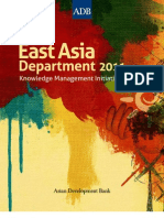 East Asia Department Knowledge Management Initiatives in 2011