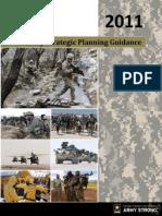 Army Strategic Planning Guidance 2011