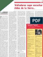 Crónica Leda Valladares para Nuevo Diario de Santiago del Estero