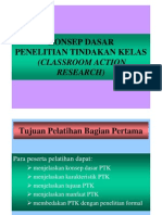 Action Research (Konsep Dasar PTK-1) [Compatibility Mode]