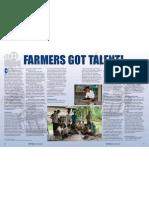 Rice Today Vol. 11, No. 4 Farmers got talent