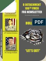 Bulldog Newsletter September 2012