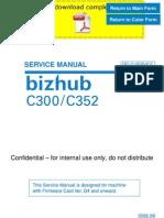 konicaminolta bizhub c300 c352 service manual pages rh scribd com konica minolta bizhub c300 manual bizhub c300 service manual