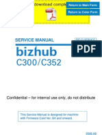 KONICAMINOLTA Bizhub C300 C352 Service Manual Pages