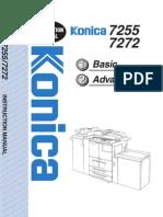 Konica Bizhub 7272 - User Manual