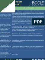 Boole Server PCI DSS Faq