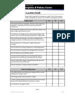 Offsite Storage Location Audit