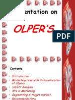 Olper Milk Presntation