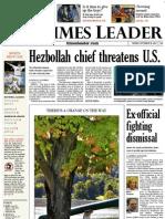 Times Leader 09-18-2012