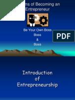 1 Entrepreneurship Nature & Importance