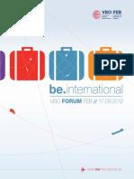 Brochure conférence Forum FEB 'be.international' - Partie 2