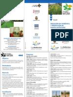 CEMACAM Font Roja-Alcoy. Taller de Iniciación en Viverística. Octubre 2012. Obra Social. Caja Mediterráneo
