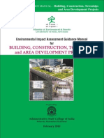 EIA Guideline for Building and Township Project by MOEF India