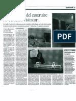 Articolo sulla mostra a Palazzo Te apparso sulla Gazzetta Di Mantova il 18 settembre 2012
