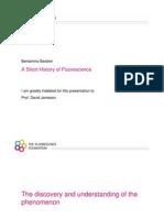 A Short History of Fluorescence
