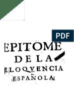Artiga Epitome Elocuencia 1692