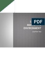 Services Marketing Environment