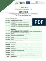PROGRAMA Seminario Turismo Pesquero Santoña