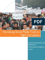 Harnessing Social Media Tools to Fight Corruption 1