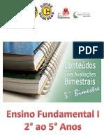 Conteúdos - 3° Bimestre - E.F.1