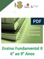 Conteúdos - 3° Bimestre - E.F.2