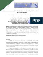 O USO DAS TECNOLOGIAS NO ENSINO DE MATEMÁTICA - UM TRABALHO REALIZADO NO PIBID