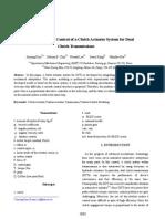DCT Clutch Actuator