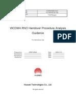 WCDMA RNO Handover Procedure Analysis Guidance