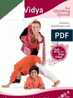 Yoga Vidya Bad Meinberg Spezial - Programmauszug