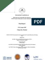 Report TVET TE TowardsSustainability