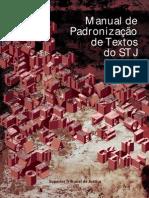 Manual Padronizacao Textos STJ Ed2012