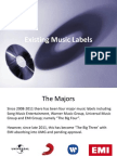 Existing Music Labels