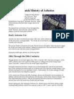 A Quick History of Asbestos