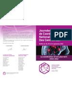 Pré-programme journées de coordination Dijon 2012