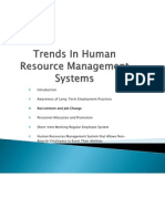 Trends in Human Resource Management Systems