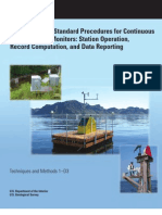 USGS Guidelines and Standard Procedures for Continuous Water-Quality Monitors - Station Operation, Record Computation, And Data Reporting