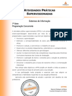 ATPS - Programacao - Concorrente