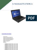 HP ProBook Notebook PC