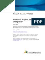 Microsoft Project Server 2010 Integration