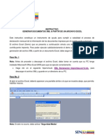 Instructivo Documentos XML