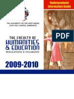 Humanities - Handbook - 2009