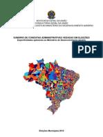 Cartilha Vedacoes CONJUR MDA Eleicoes 2012 Versao Web