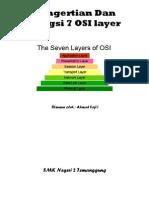 Pengertian Dan Fungsi 7 OSI Layer